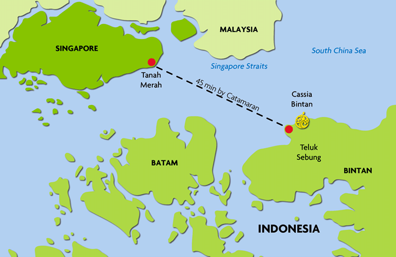 Map Of Bintan Indonesia About Bintan