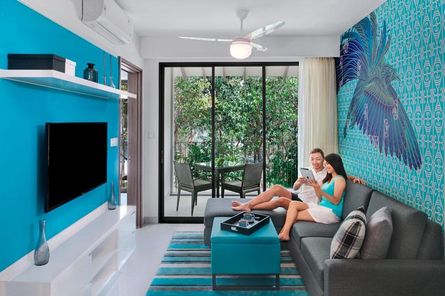 Cassia Bintan - One Bedroom Apartment Garden